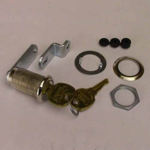 CompX Cam Lock Master Keyed/Keyed Different-Nickel C8053-14A-MKKD