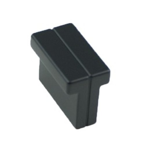 Skyline 1-3/8 Inch Length Matte Black Cabinet Knob <small>(#9211-1055-P)</small>