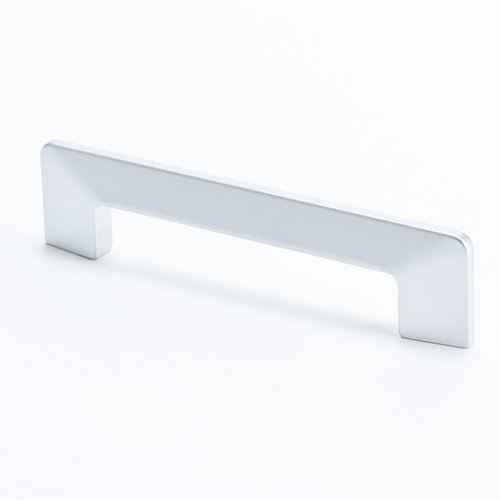 Edge 3-3/4 Inch Center to Center Dull Chrome Cabinet Pull <small>(#9274-10DC-C)</small>