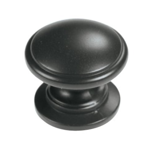 Hickory Hardware Williamsburg 1-1/4 Inch Diameter Oil Rubbed Bronze Cabinet Knob P3053-10B