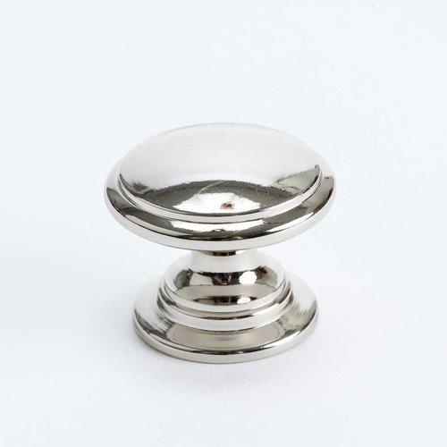 Berenson Designers Group 10 1-3/16 Inch Diameter Polished Nickel Cabinet Knob 4145-1014-P
