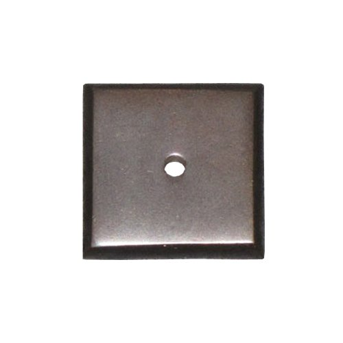 Top Knobs Aspen 7/8 Inch Diameter Medium Bronze Back-plate M1447
