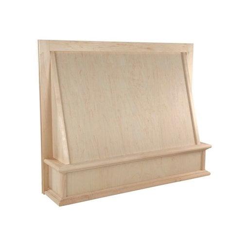"Omega National Products 30"" Wide Classic Series Wood Range Hood-Hickory R70302SMB1HUF1"