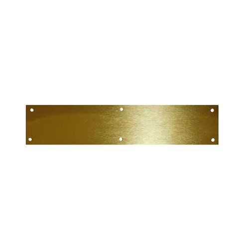 "Brass Door Kick Plate 6"" X 30"" <small>(#90-6"" X 30""-605)</small>"