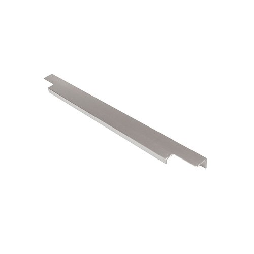 Hickory Hardware Austere Lip Pull 17-13/16 inch Long Aluminum-Sold Per Pair C02H075746-AL