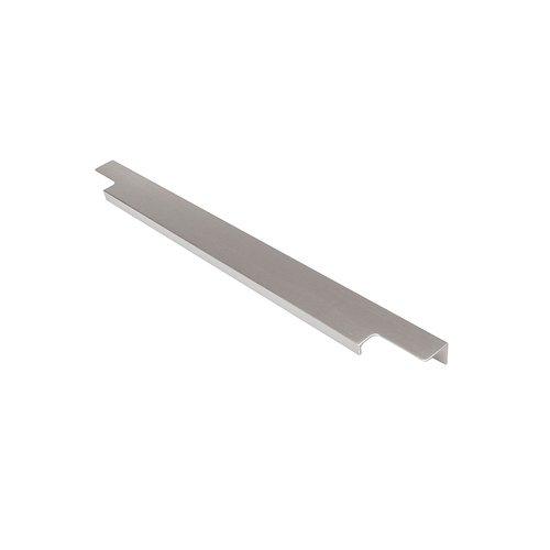 "Hickory Hardware Austere Lip Pull 17-13/16"" Long Aluminum-Sold Per Pair C02H075746-AL"