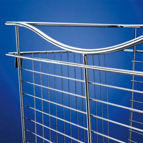Pullout Wire Basket 18 inch W x 20 inch D x 11 inch H <small>(#CB-182011SN-5)</small>