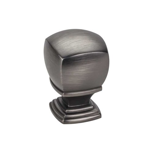 Katharine 1 Inch Diameter Brushed Pewter Cabinet Knob <small>(#188L-BNBDL)</small>