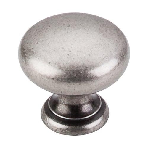 Top Knobs Somerset 1-1/4 Inch Diameter Pewter Antique Cabinet Knob M286