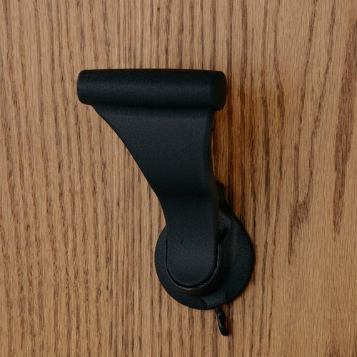 "UltraLatch for 1-3/4"" Door W/ Privacy Latch Textured Black <small>(#L28P-19)</small>"