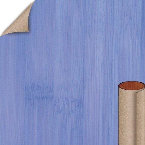 Nevamar Xanadu Blue Bamboo Textured Finish 4 ft. x 8 ft. Vertical Grade Laminate Sheet WZ3001T-T-V3-48X096