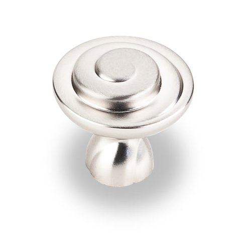 Jeffrey Alexander Duval 1-1/4 Inch Diameter Satin Nickel Cabinet Knob 343SN