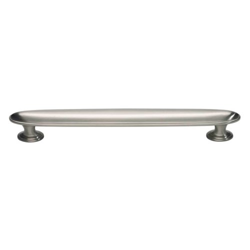 Atlas Homewares Austen 6-5/16 Inch Center to Center Brushed Nickel Cabinet Pull 318-BRN