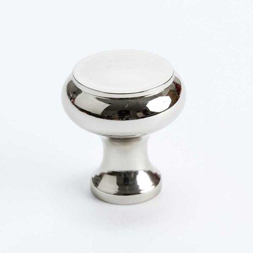 Berenson Designers Group 10 1-1/4 Inch Diameter Polished Nickel Cabinet Knob 4150-1014-P