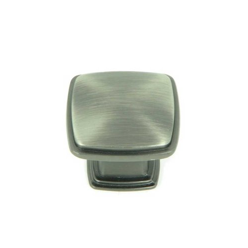 Stone Mill Hardware Milan 1-1/4 Inch Diameter Weathered Nickel Cabinet Knob CP81091-WEN