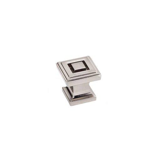Jeffrey Alexander Delmar 1 Inch Diameter Satin Nickel Cabinet Knob 585SN