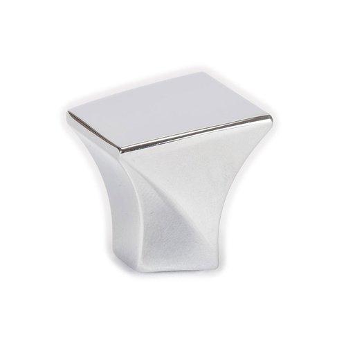 Berenson Fluidic 1-3/16 Inch Length Polished Chrome Cabinet Knob 9479-1026-P