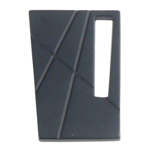 Atlas Homewares Modernist 1-3/4 Inch Diameter Black Cabinet Knob 252L-BL
