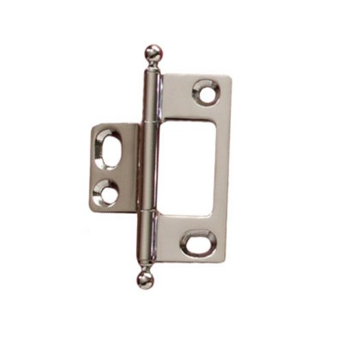 Hafele Elite Non-Mortised Butt Hinge 50X37mm - Polished Chrome 351.95.282
