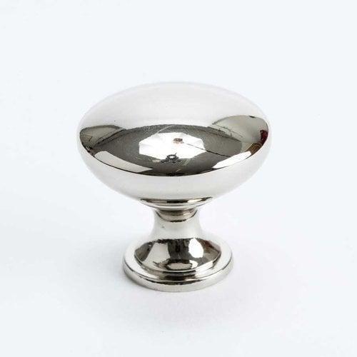 Berenson Designers Group 10 1-3/16 Inch Diameter Polished Nickel Cabinet Knob 4143-1014-P