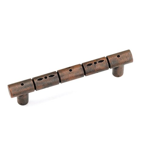 Laurey Hardware Kama 3 Inch Center to Center Rust Cabinet Pull 23519