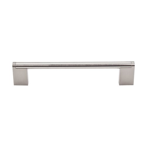 Top Knobs Bar Pull 6-5/16 Inch Center to Center Brushed Satin Nickel Cabinet Pull M1043