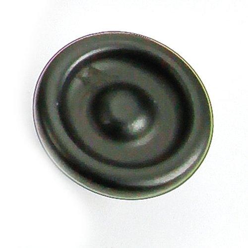Laurey Hardware Foundry 1-1/4 Inch Diameter Matte Black Cabinet Knob 39220