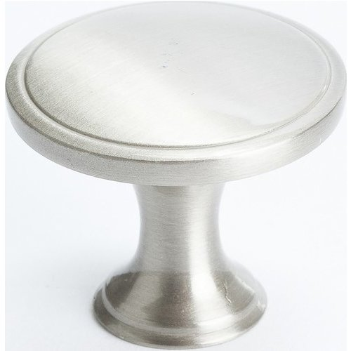 Oasis 1-1/4 Inch Diameter Brushed Nickel Cabinet Knob <small>(#9255-1BPN-P)</small>