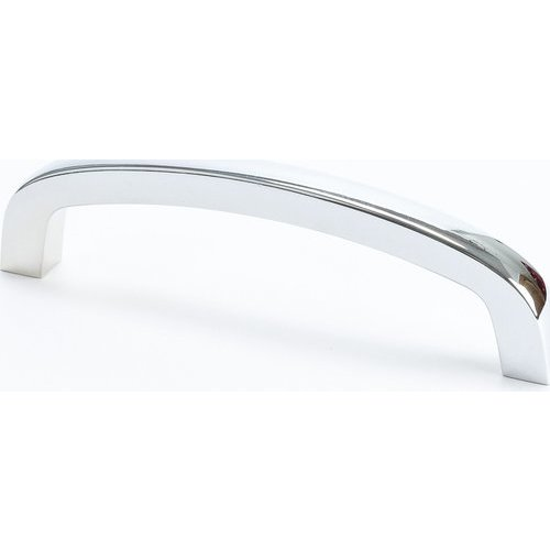 Cadence 3-3/4 Inch Center to Center Polished Chrome Cabinet Pull <small>(#9704-126-P)</small>