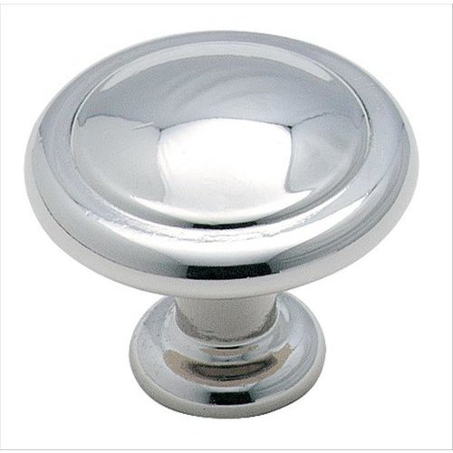 Amerock Reflections 1-1/4 Inch Diameter Polished Chrome Cabinet Knob BP138726