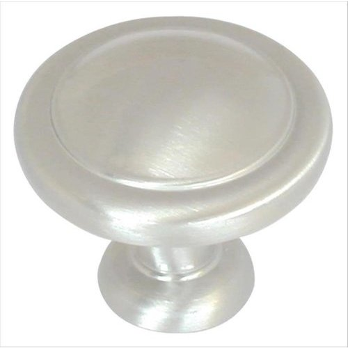 Amerock Reflections 1-1/4 Inch Diameter Satin Nickel Cabinet Knob BP1387G10
