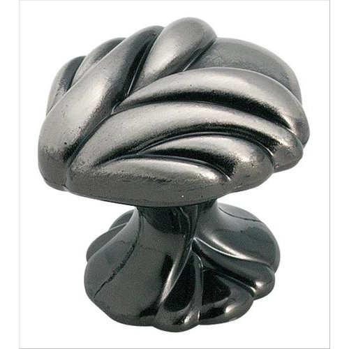 Amerock Expressions 1-1/2 Inch Diameter Pewter Cabinet Knob BP1475PWT