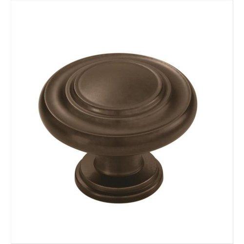Amerock Inspirations 1-3/8 Inch Diameter Caramel Bronze Cabinet Knob BP1586CBZ