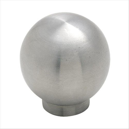 Amerock Stainless Steel 1-3/16 Inch Diameter Stainless Steel Cabinet Knob BP19007SS
