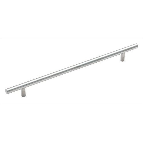 Amerock Bar Pulls 10-1/16 Inch Center to Center Sterling Nickel Cabinet Pull BP19013CSG9