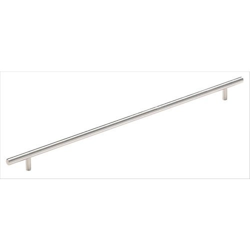 Amerock Bar Pulls 16-3/8 Inch Center to Center Stainless Steel Cabinet Pull BP19015SS