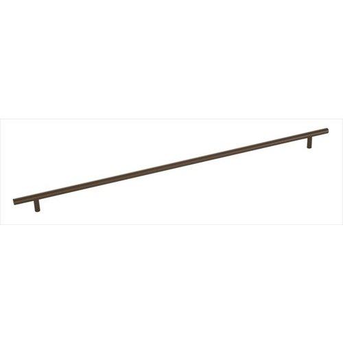 Amerock Bar Pulls 21-7/16 Inch Center to Center Caramel Bronze Cabinet Pull BP19017CBZ