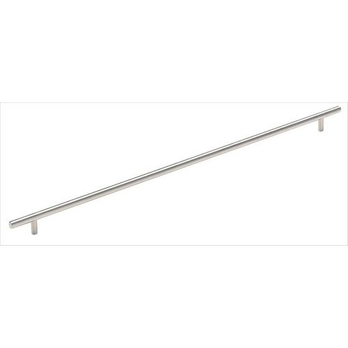 Amerock Bar Pulls 21-7/16 Inch Center to Center Stainless Steel Cabinet Pull BP19017SS