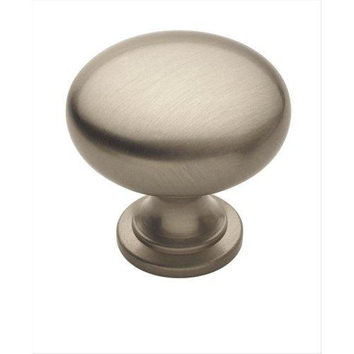 Amerock Allison Value Hardware 1-1/4 Inch Diameter Satin Nickel Cabinet Knob BP1910G10