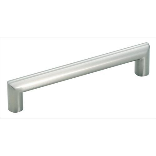 Amerock Essential'Z 5-1/16 Inch Center to Center Satin Nickel Cabinet Pull BP19200G10