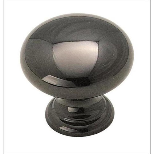 Brass Classics 1-1/4 Inch Diameter Black Nickel Cabinet Knob <small>(#BP1950BNB)</small>