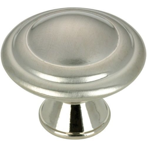 Richelieu Contemporary 1-3/16 Inch Diameter Knobs with Nickel Finish BP20630195