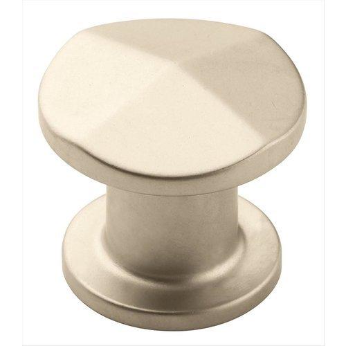 Amerock Vasari 1-3/16 Inch Diameter Satin Nickel Cabinet Knob BP24003SN