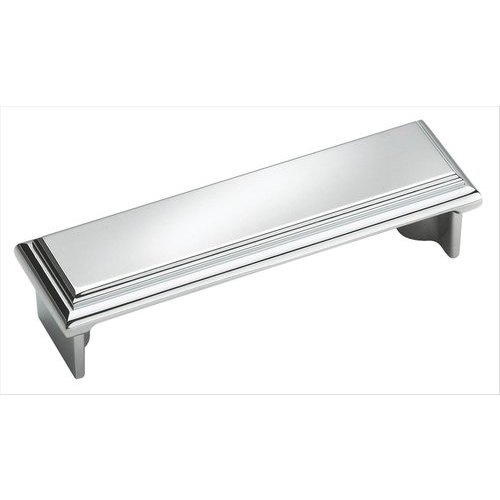 Amerock Manor 3 Inch Center to Center Polished Chrome Cabinet Pull BP2613026