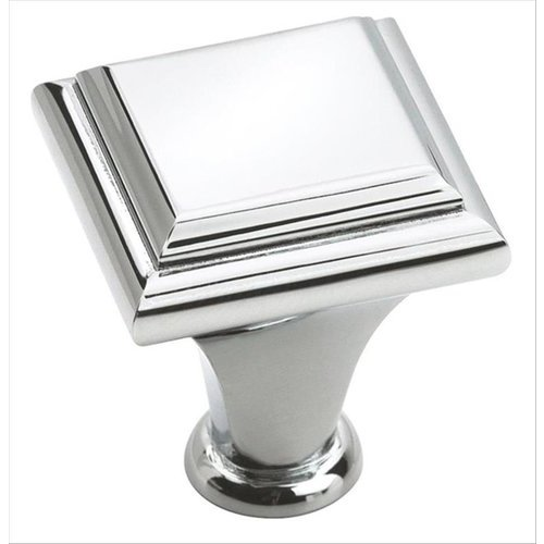 Amerock Manor 1 Inch Diameter Polished Chrome Cabinet Knob BP2613126