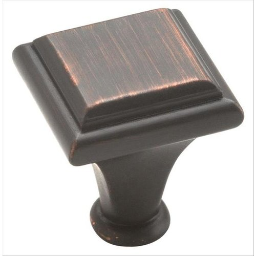 Amerock Manor 1 Inch Diameter Oil Rubbed Bronze Cabinet Knob BP26131ORB