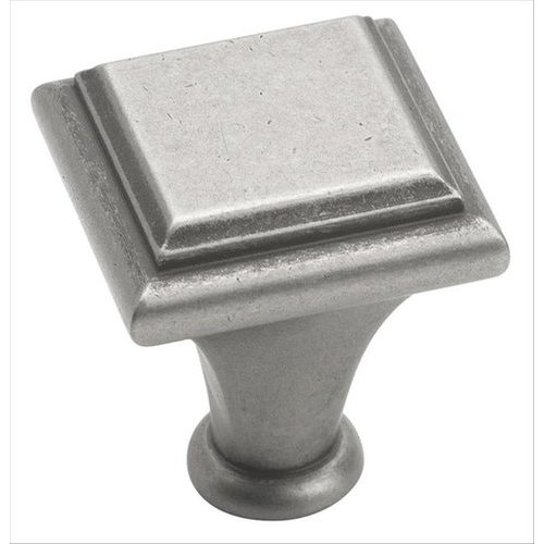 Amerock Manor 1 Inch Diameter Weathered Nickel Cabinet Knob BP26131WN