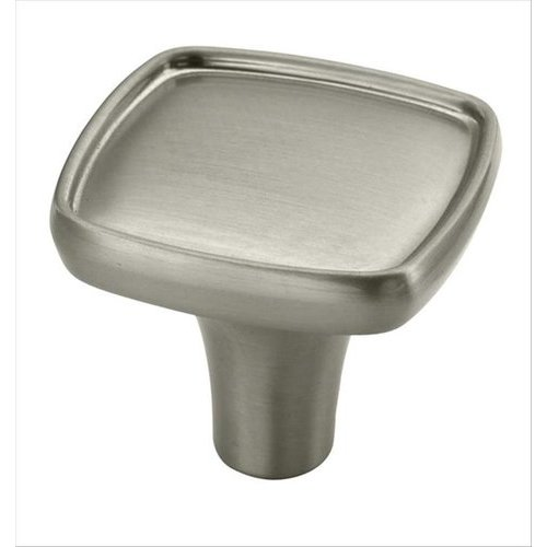 Porter 1-1/8 Inch Diameter Satin Nickel Cabinet Knob <small>(#BP27006G10)</small>