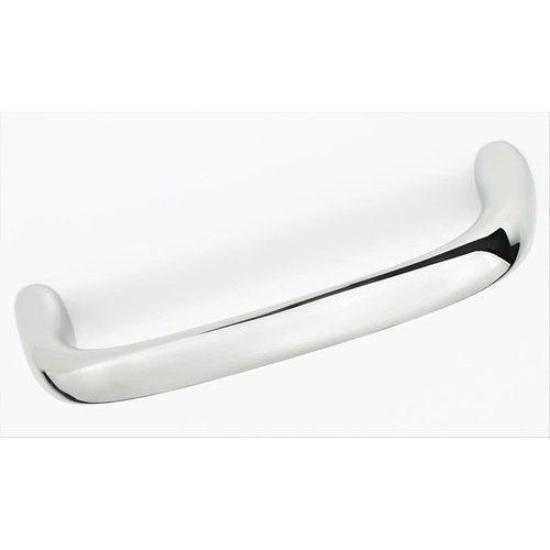 Amerock Dulcet 3-3/4 Inch Center to Center Polished Chrome Cabinet Pull BP2702026