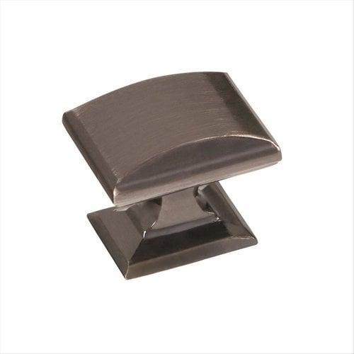 Amerock Candler 1-1/4 Inch Diameter Gunmetal Cabinet Knob BP29340GM